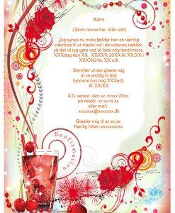 Invitation Til Konfirmation Tekst